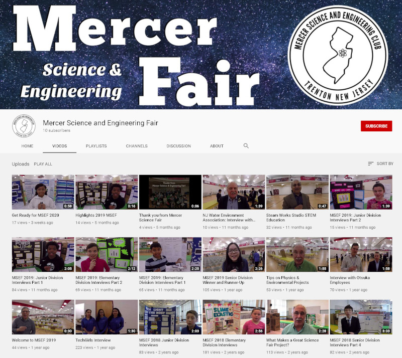 MSEF Videos on YouTube