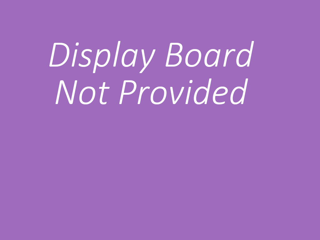 Display board image not available
